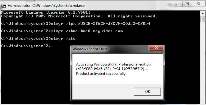 Activate Windows 7 Ultimate