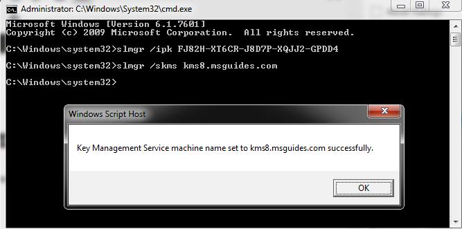 connect-to-KMS-servers